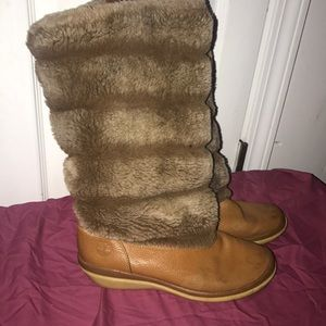 Timberland Fur Boots 👢